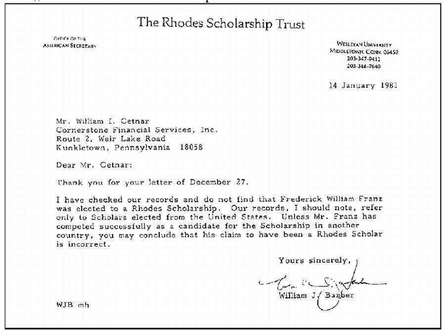 RHODES SCHOLAR? (1), WatchTower Society / Scandals & Coverups ...