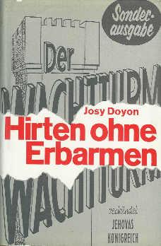 Josy Doyon: Hirten ohne Erbarmen